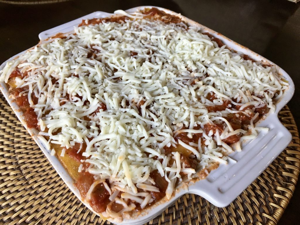 how to make healthier lasagna with less sodium