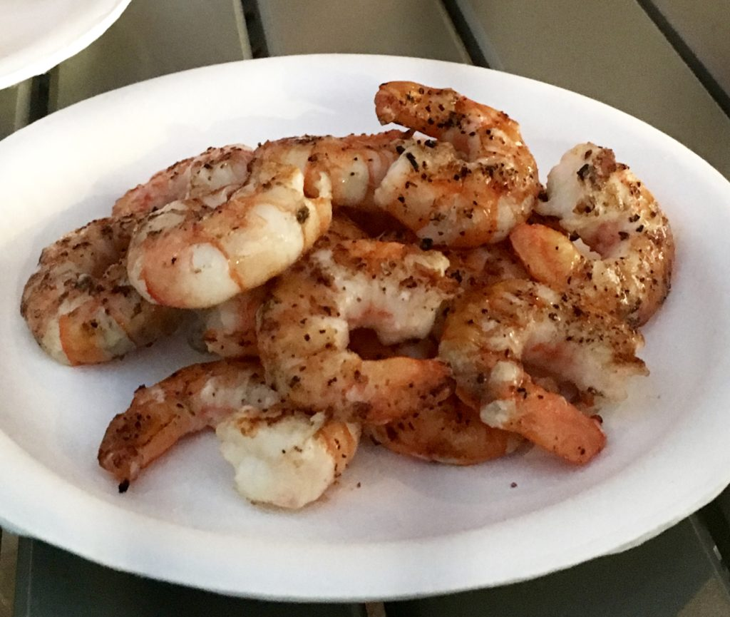 Grilled Shrimp with herbs a hawaiian dinner recipe