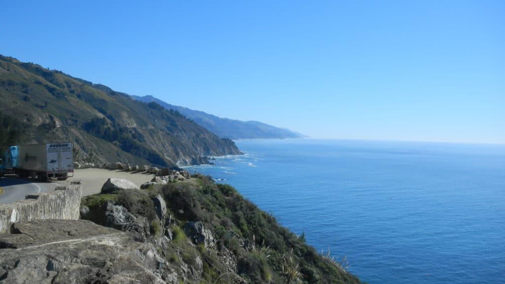 Highway 1, Coastal California views