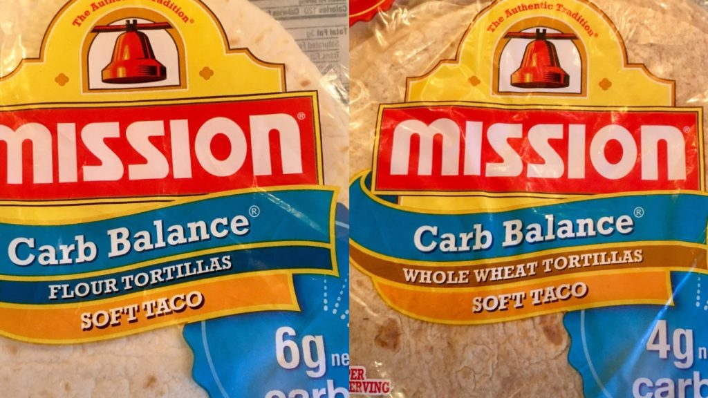 Mission Carb Balance low carb tortillas