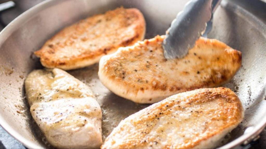 pan seared chicken breasts, a poultry recipe