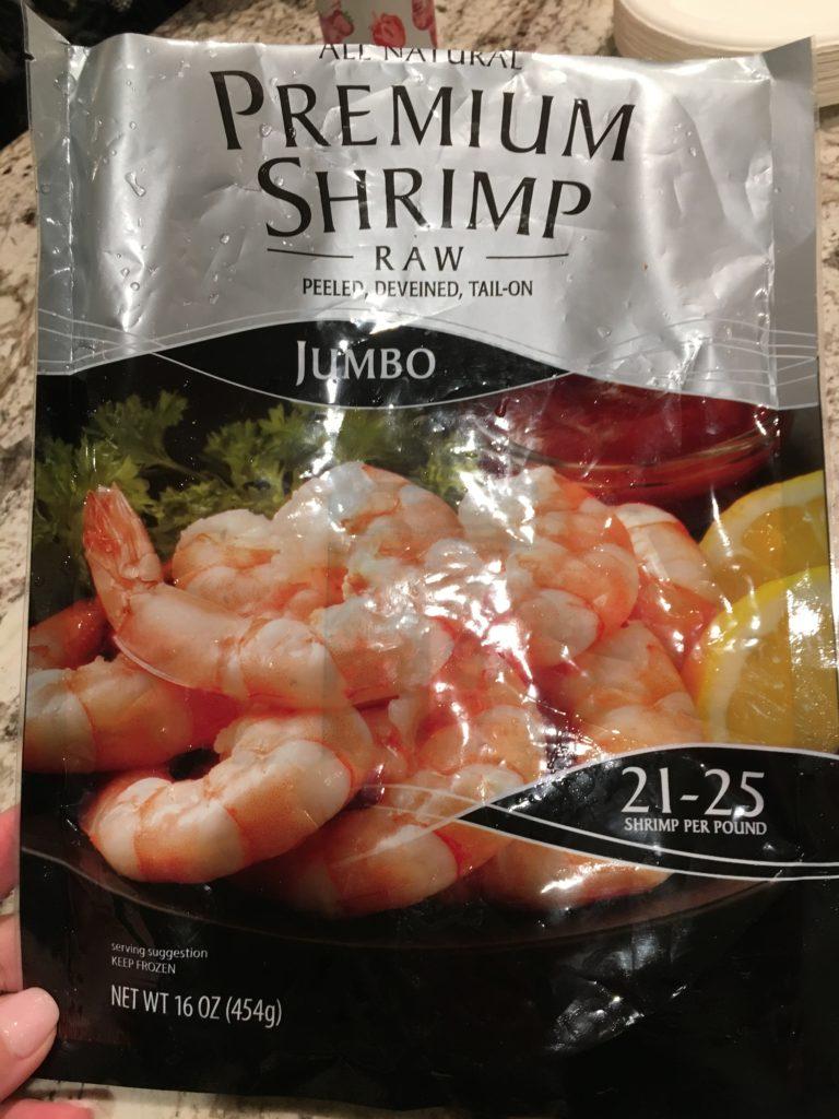 shrimp for grilled shrimp kabobs