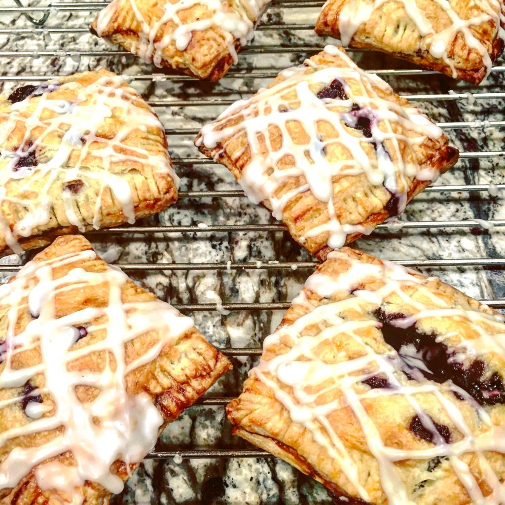 photo of blueberry hand pies