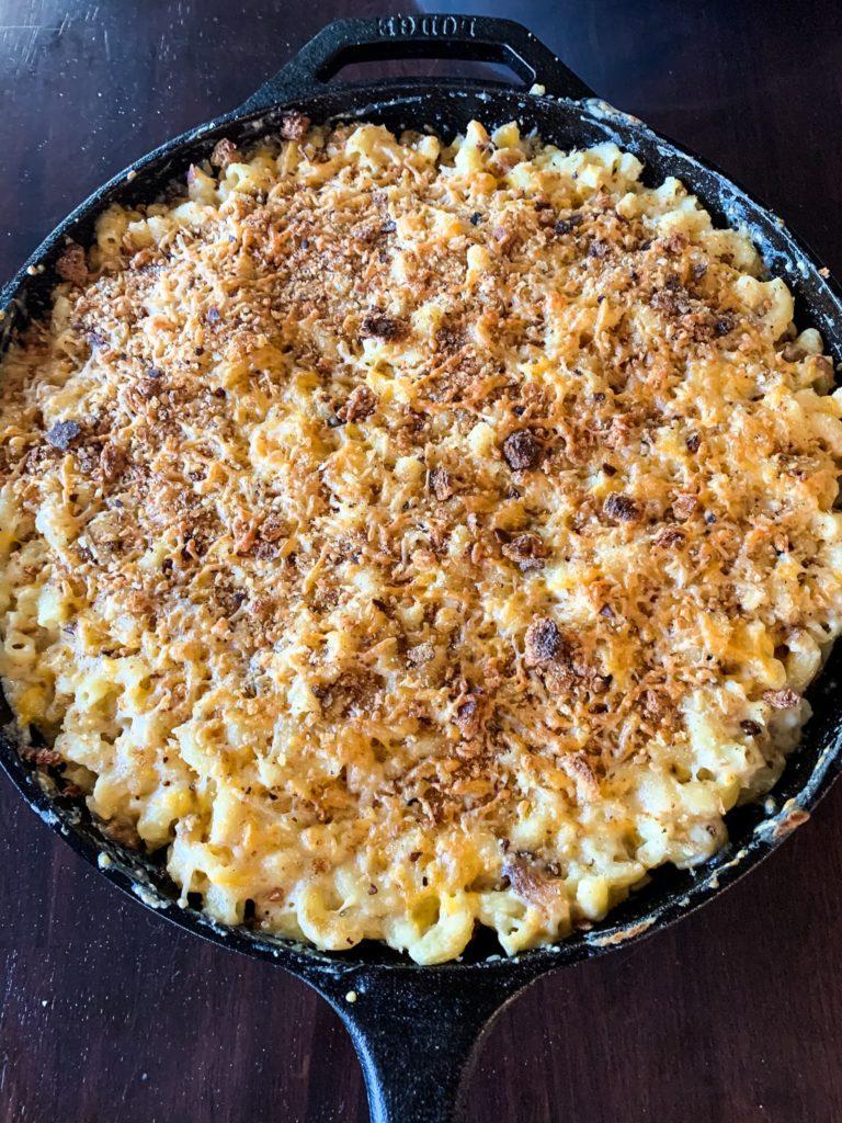 the best smoked mac & cheese recipe