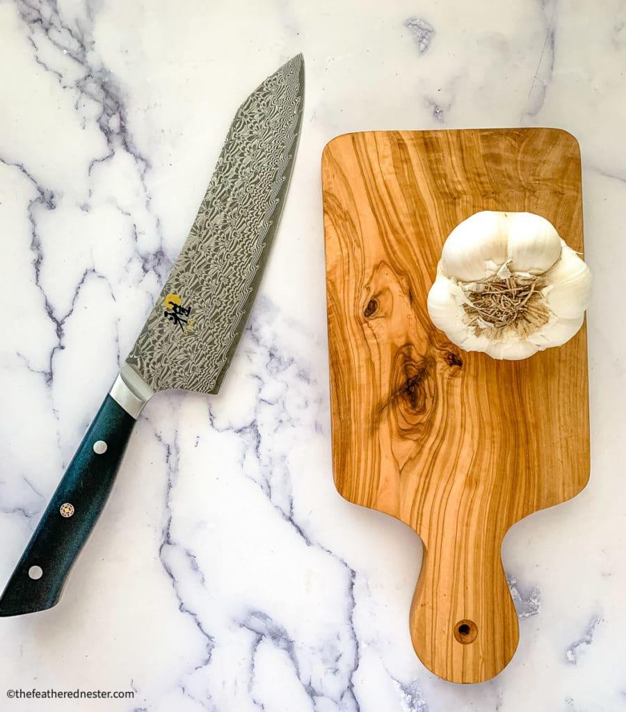 photo of Miyabi Santoku knives as described in gift guide