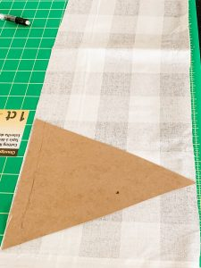 how to make fabric pennants