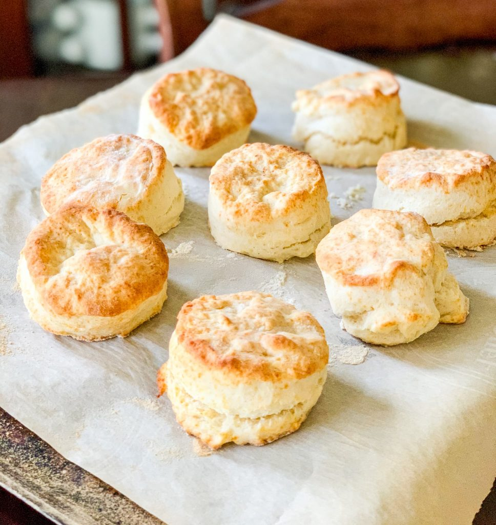 fluffy homemade biscuits