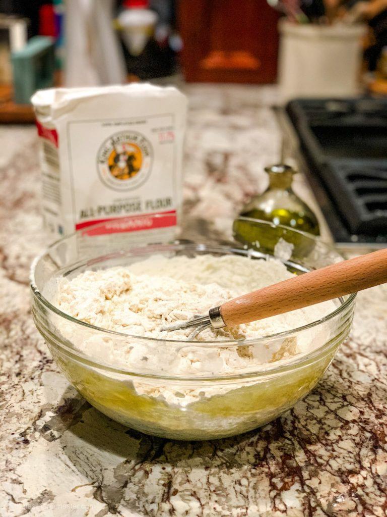 flour water dough