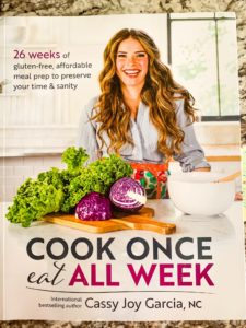 Cook Once Eat All Week cookbook for easy dinner recipes