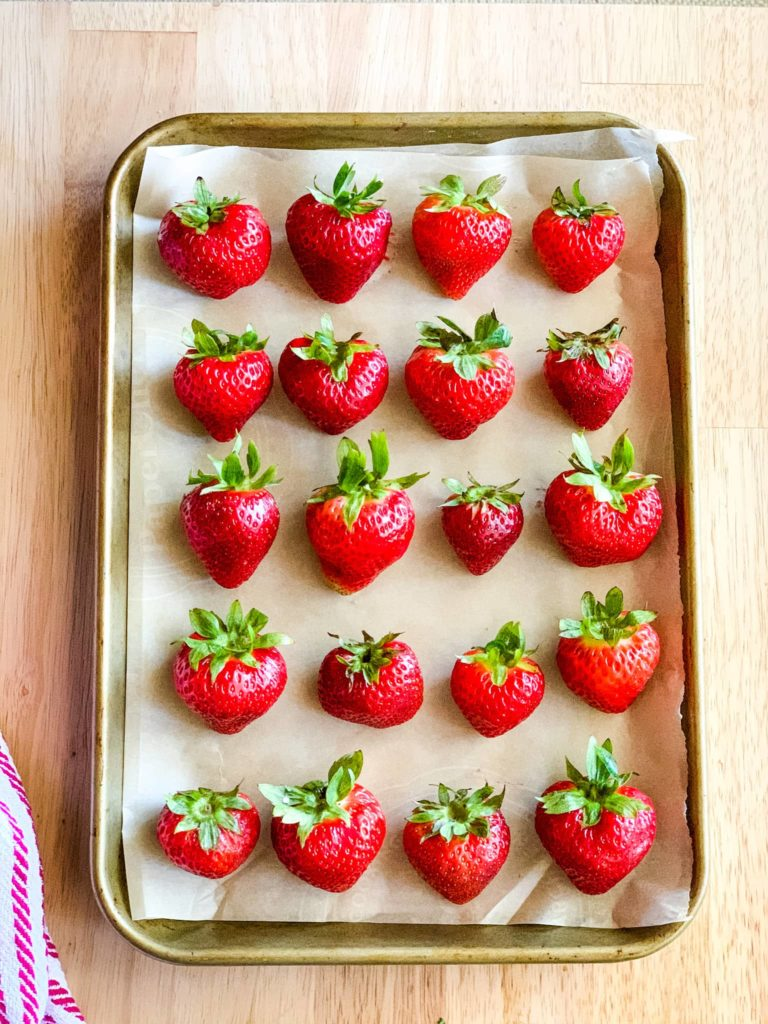 frozen strawberries for Bisquick strawberry cobbler