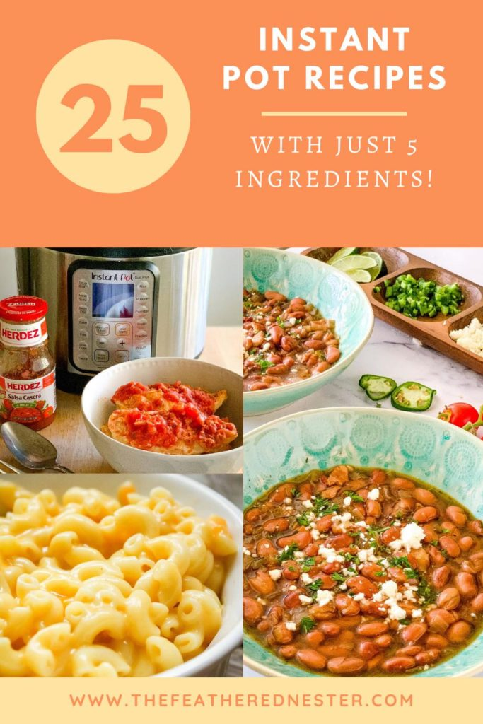 25 Instant Pot Recipes