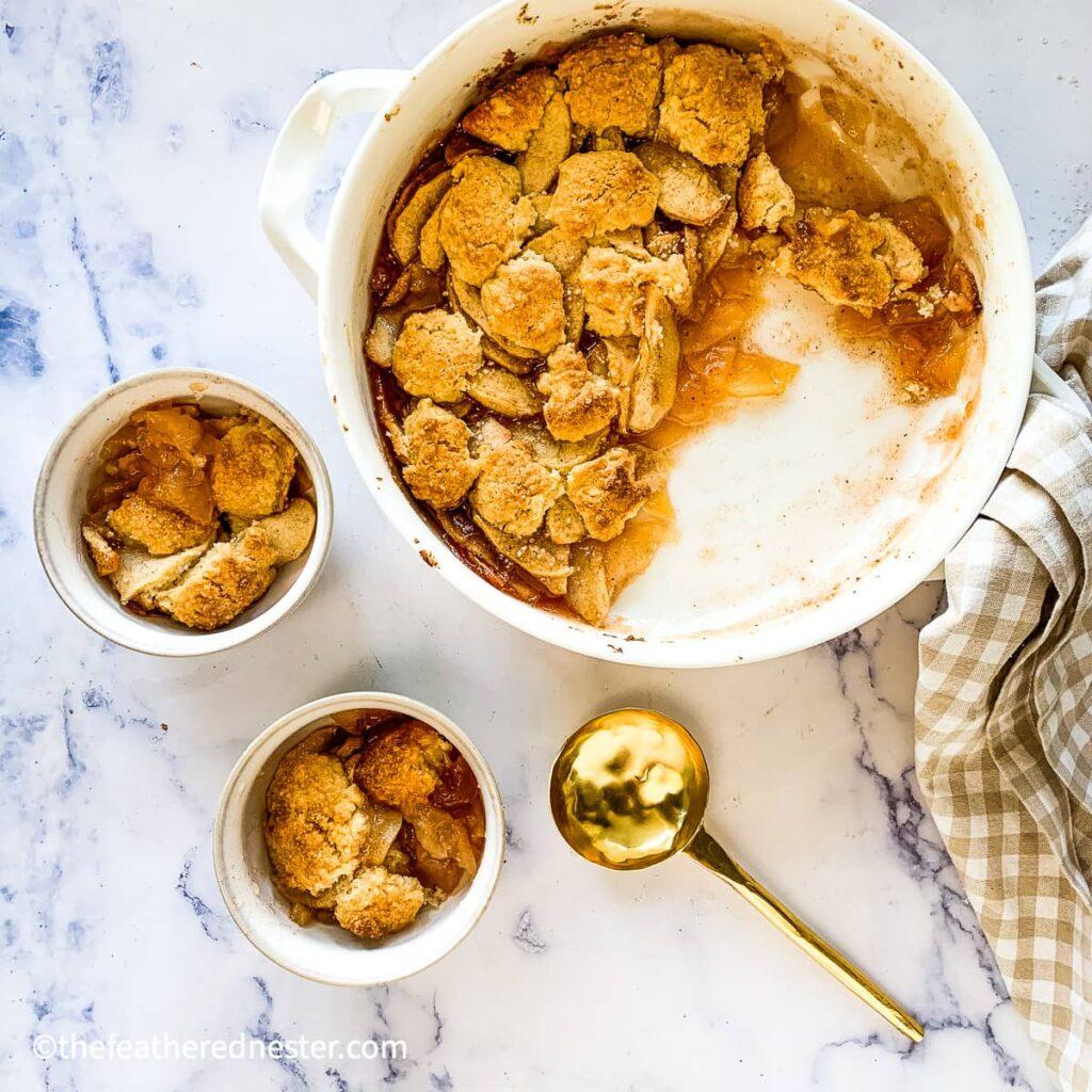 apple cobbler with bisquick