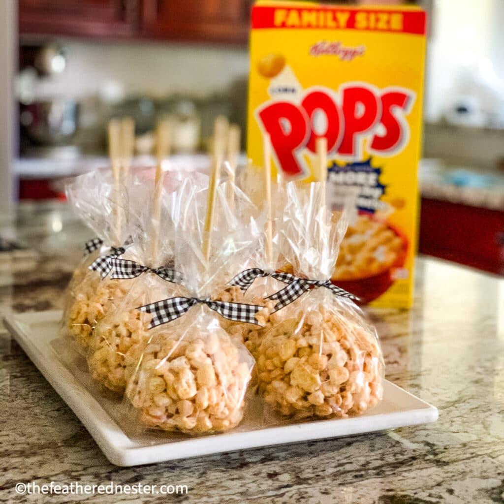 corn pops treats