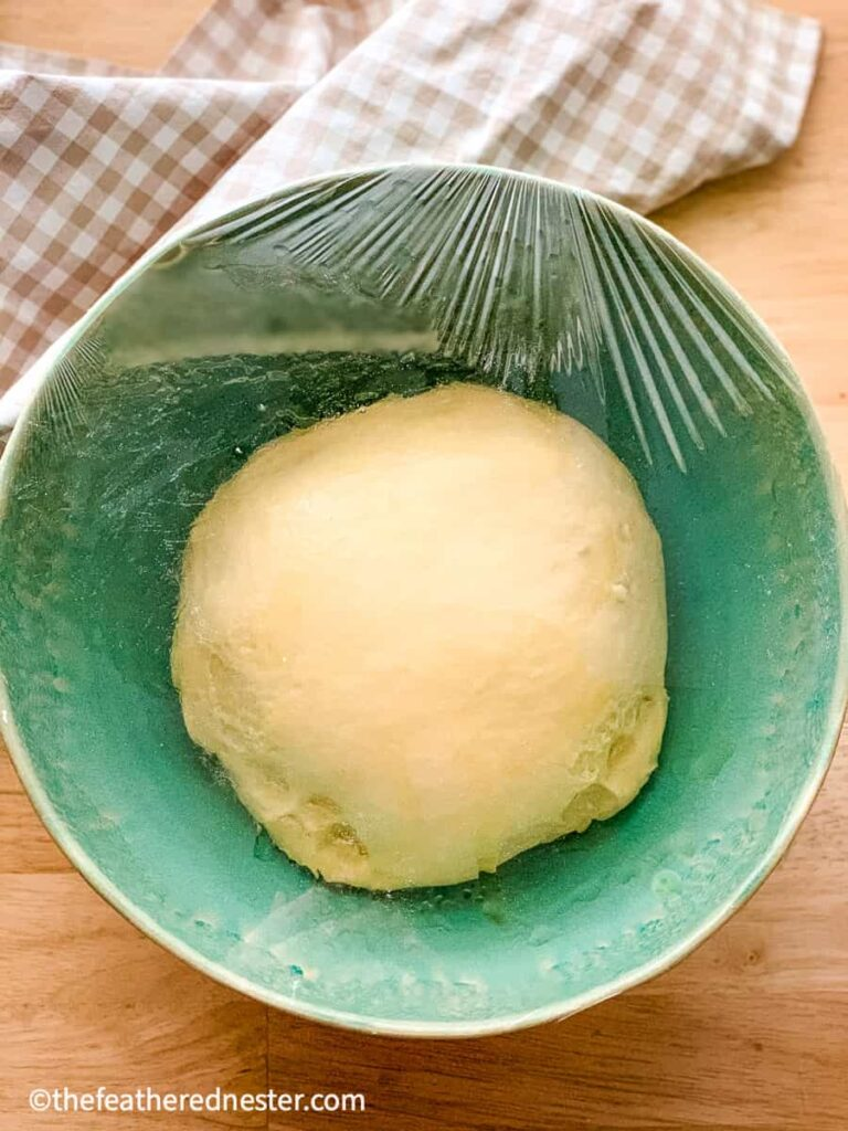 potato yeast roll dough