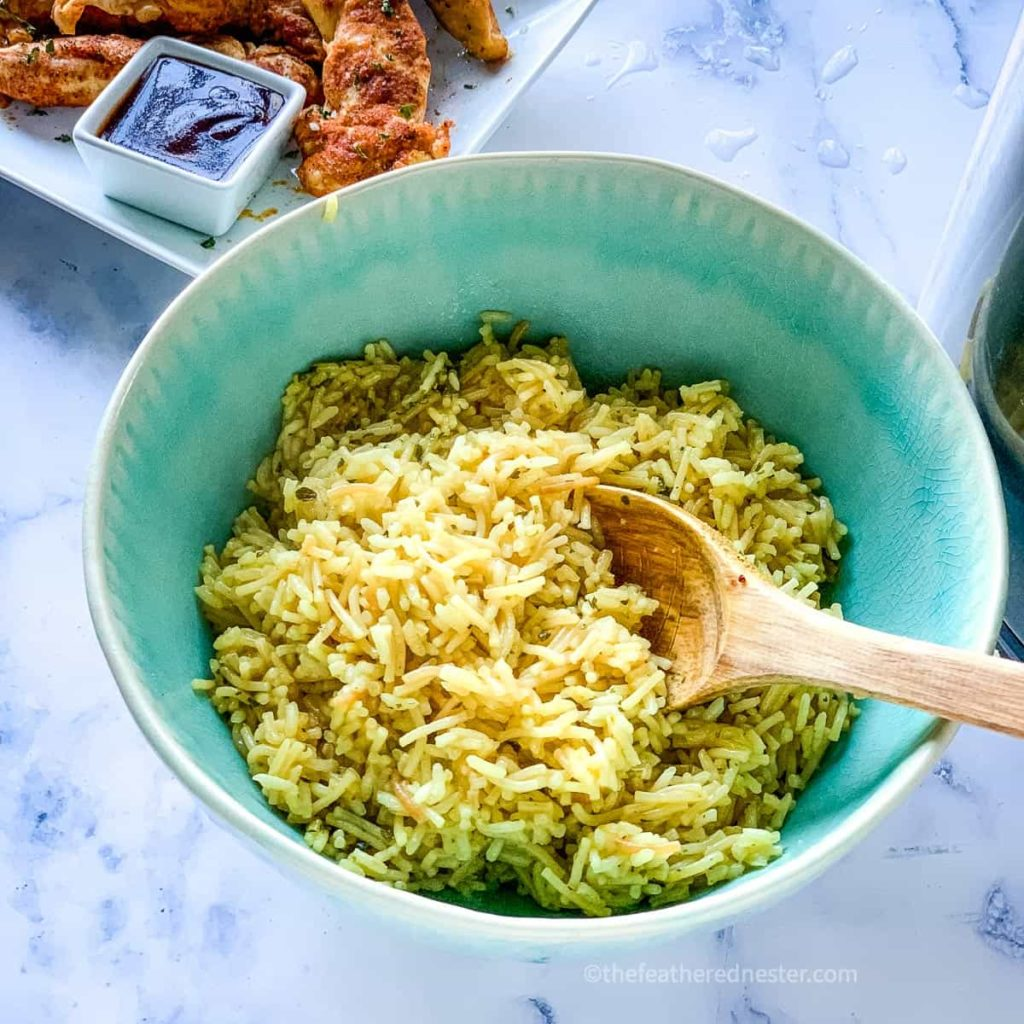 fluffy pressure cooker rice
