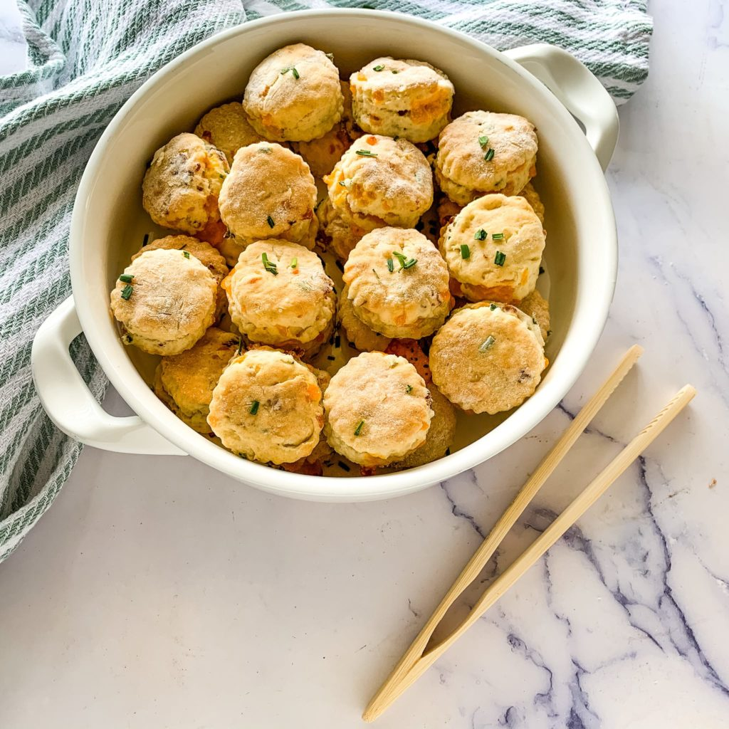 mini cheese appetizer biscuits