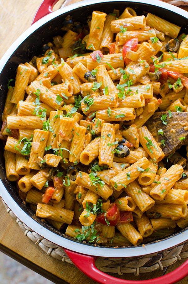 chicken rigatoni pasta recipe